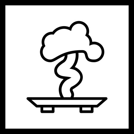 Vector Bonsai Icon