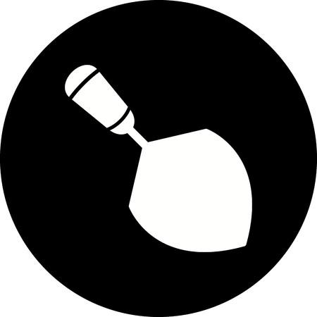 Vector Trowel Icon