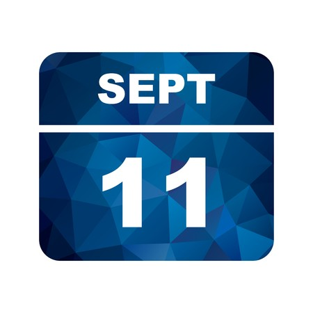 September 11th Date on a Single Day Calendar