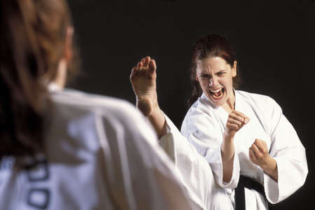 martial arts sparring Stock Photo - 6212846