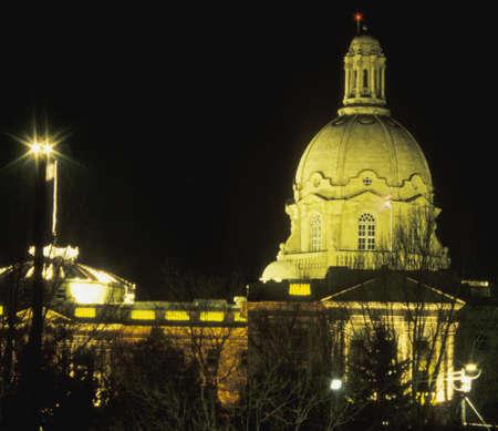 darren greenwood: Legislature Buildings of Alberta Stock Photo