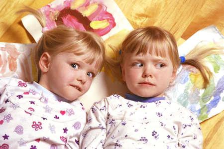 carson ganci: Twin girls