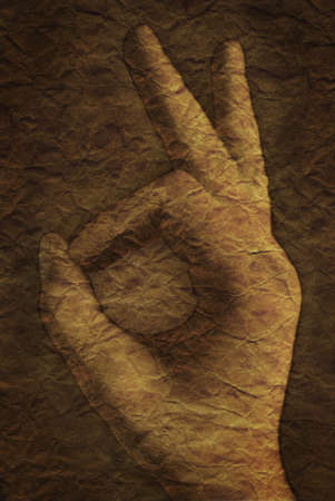 alright: Hand symbol