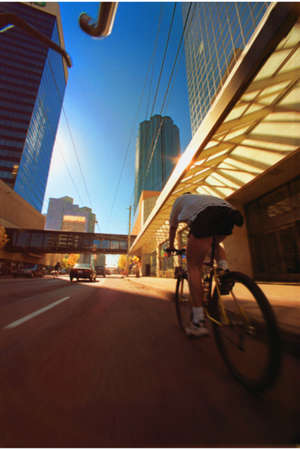 road bike: Cycling in the city