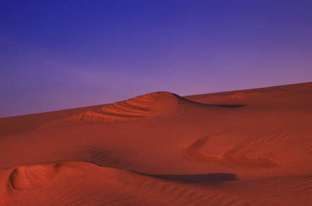 sandhills: Great Sandhills at sunset Saskatchewan, Canada Stock Photo