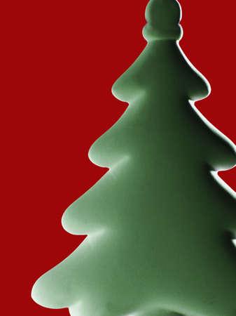 darren greenwood: Stylized christmas tree