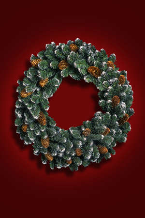 don hammond: Christmas wreath