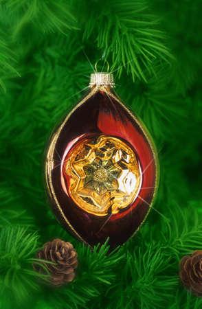 Christmas tree ornament Stock Photo