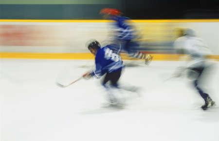 puck: Hockey players