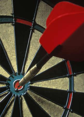 darren greenwood: Dart on dartboard