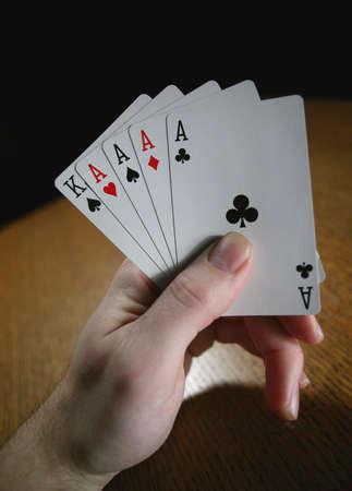 darren greenwood: Poker hand