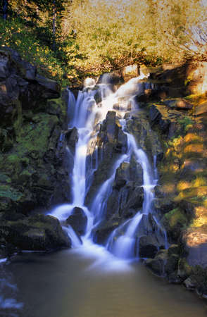carson ganci: Scenic waterfall
