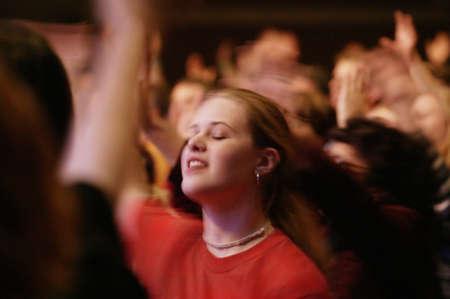 Worship service Фото со стока