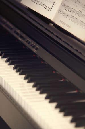 carson ganci: Piano Stock Photo
