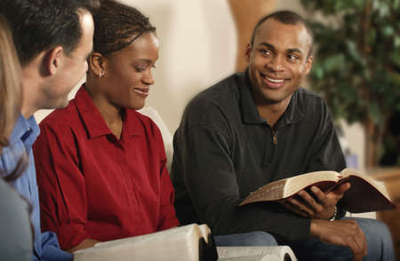 Group Bible study photo