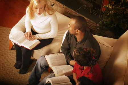 familia en la iglesia: Estudio de la Biblia
