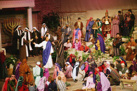 scribes: Ges� rimprovera i Farisei