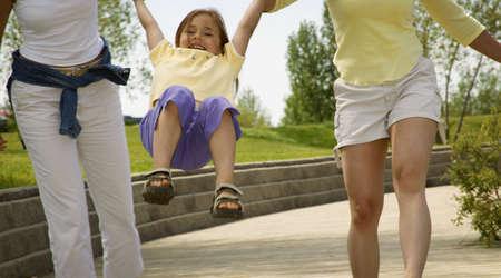 sitter: Child has fun