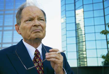Experienced businessman Фото со стока