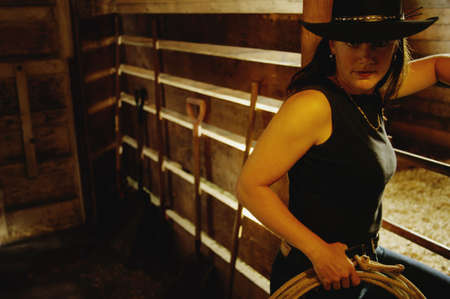 darren greenwood: Portrait of a cowgirl