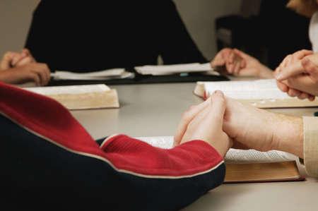 study group: Small group prayer