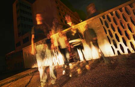 glubish: Ghosts Stock Photo