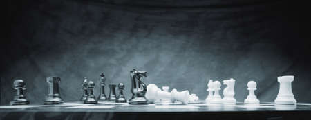 chess pawn: A chess game