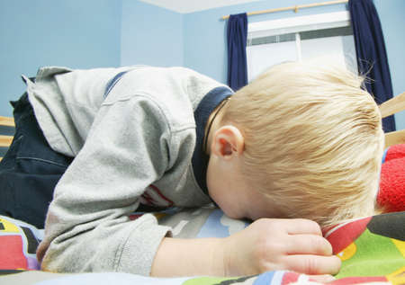 Child cries photo