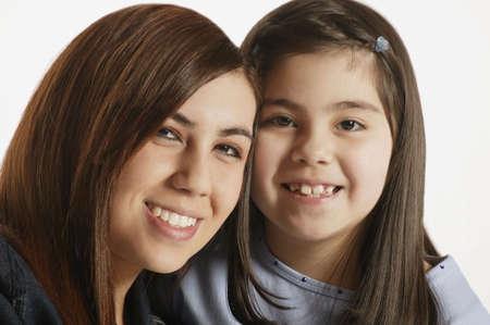 vaderlijk: Portret van twee meisjes