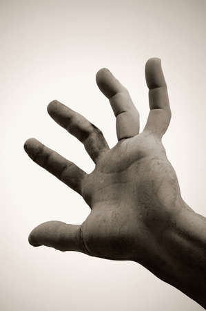 carson ganci: Hand of Statue,Rome Italy