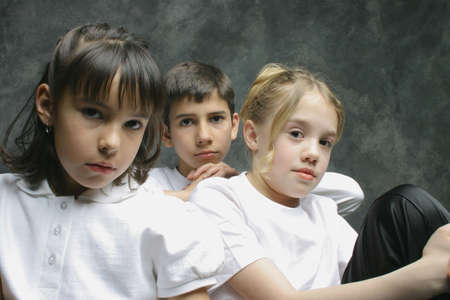 Group of children Stock Photo - 6213757