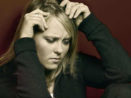 imaginor: Woman with stress