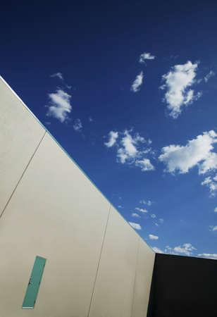 darren greenwood: Outside a building