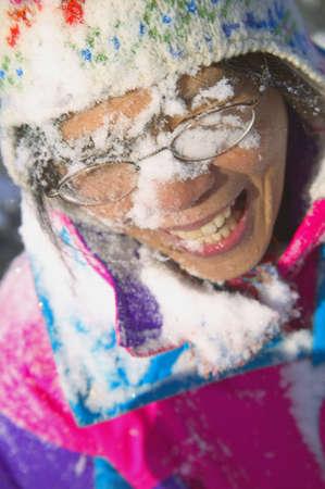 carson ganci: Snow in the face