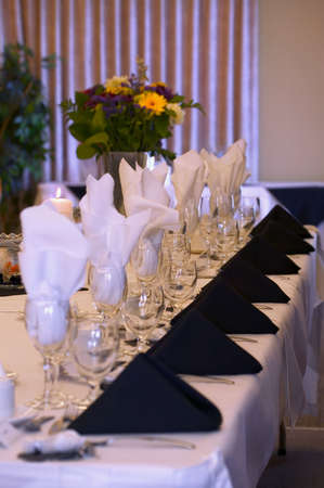 Formal place settings photo