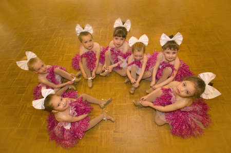 A group of ballerinas