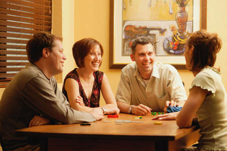 darren greenwood: Couples play a game