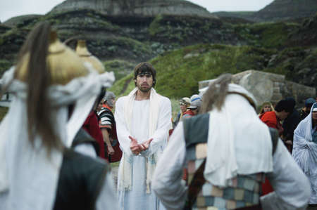 betray: Guardias vienen a la detenci�n de Jes�s en el jard�n de Getseman�