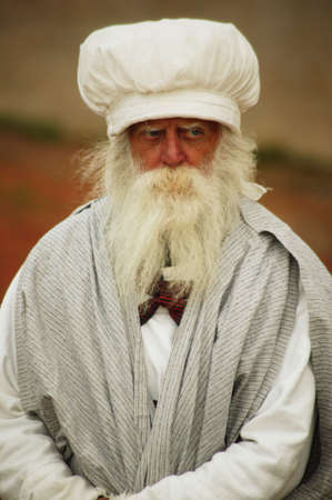 religious clothing: An old man