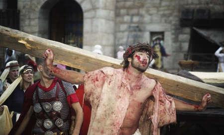 passion play: Jesus