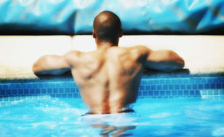 A swimmer photo