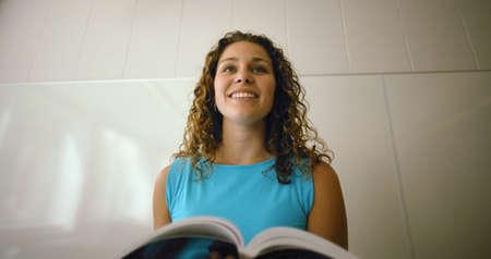 A student making a speech Stock Photo - 6214045