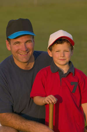 carson ganci: Portrait of father and son