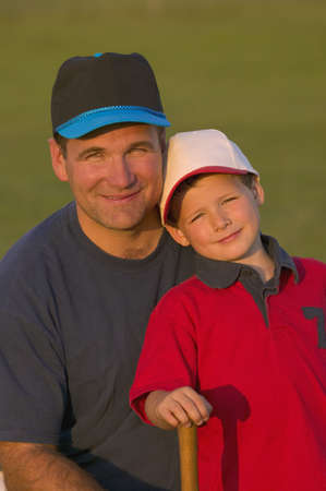 carson ganci: Portrait of father and son