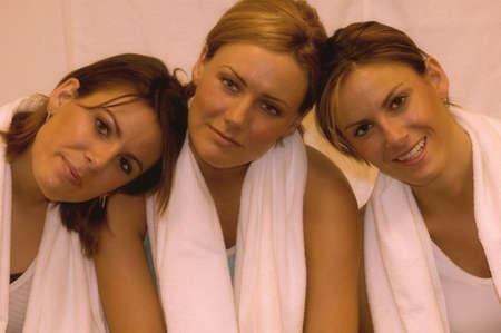 carson ganci: Portrait of three friends