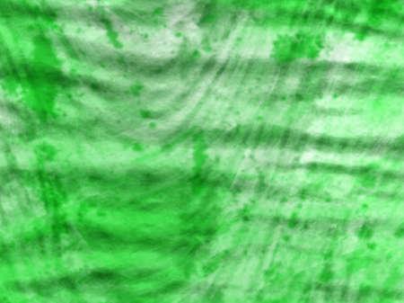 A saggy neon green Stock Photo