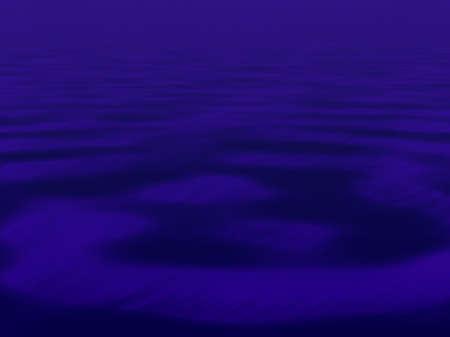 rimpeling: Een donkere rimpel Stockfoto