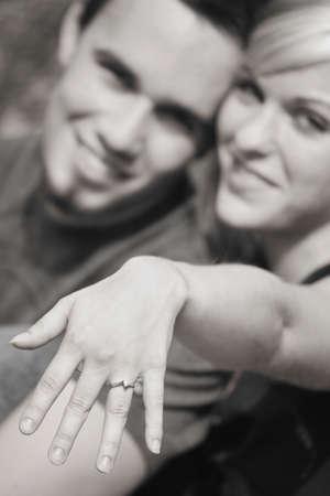 verlobt: Brautpaar