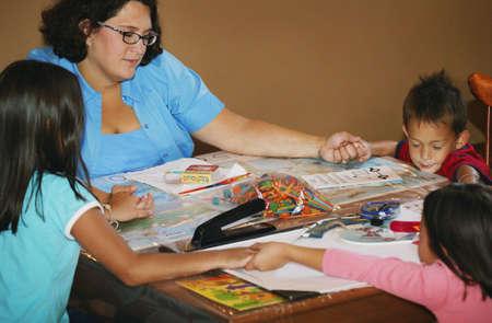 house of prayer: Teaching children