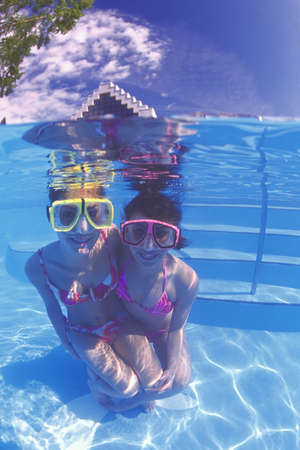 Underwater fun photo